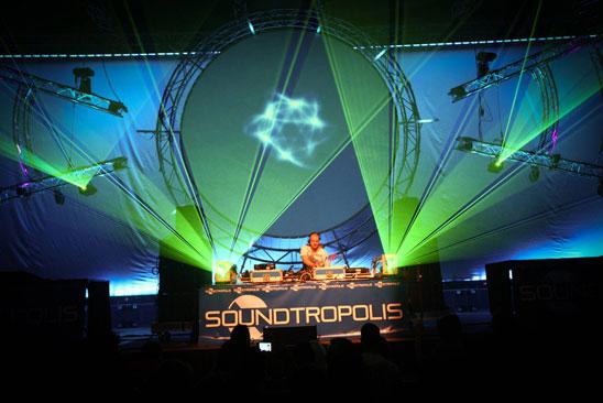 Soundtropolis Rave Party Essen