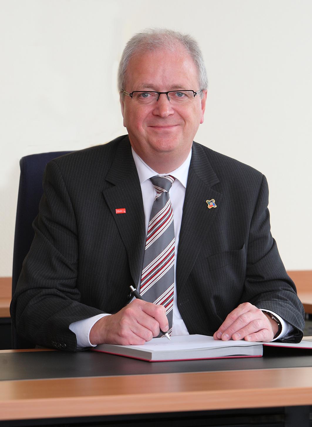 Sparkassenvorstand Ulrich Heinemann