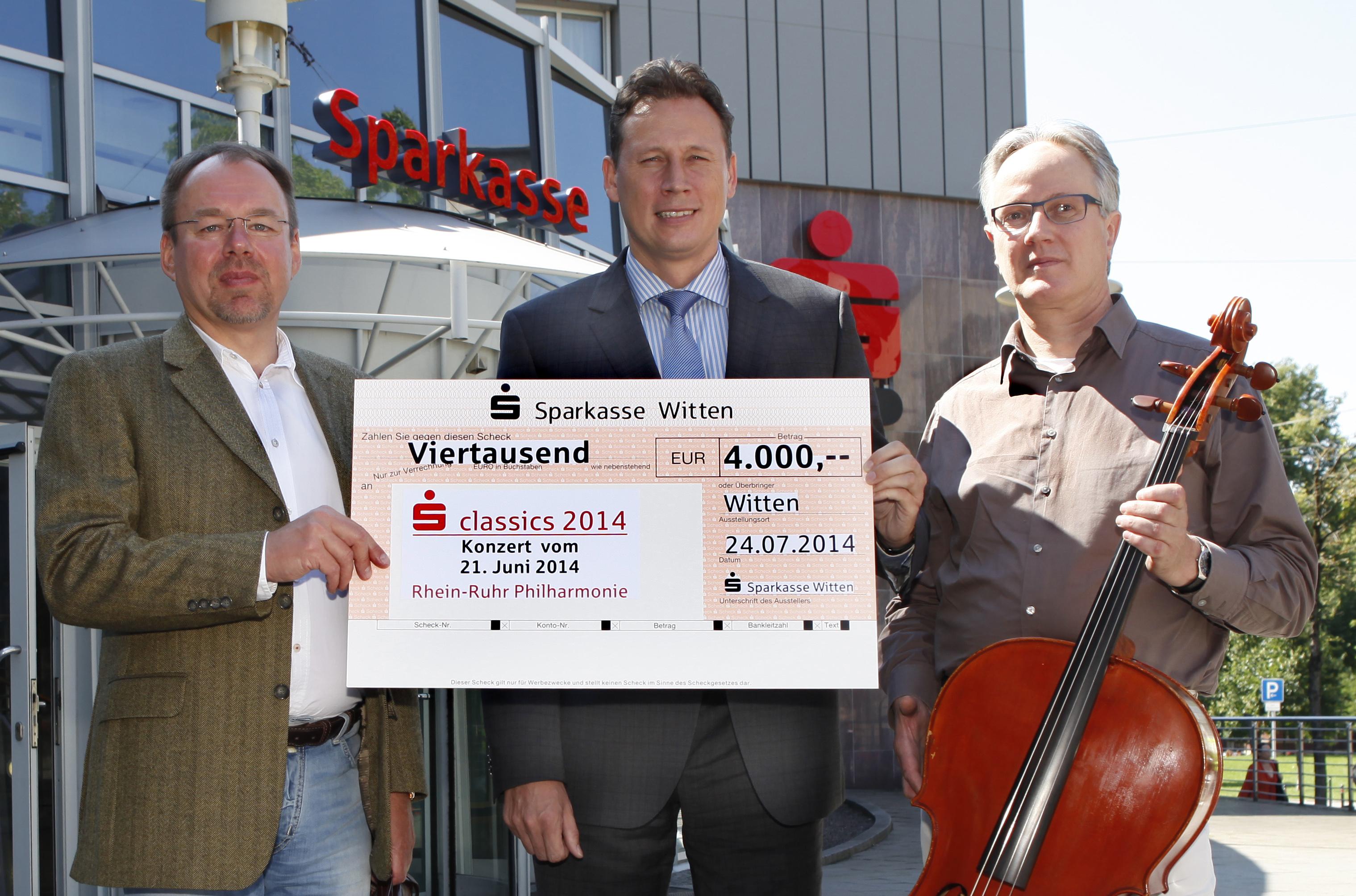 Spende aus Sparkassen-classics 2014