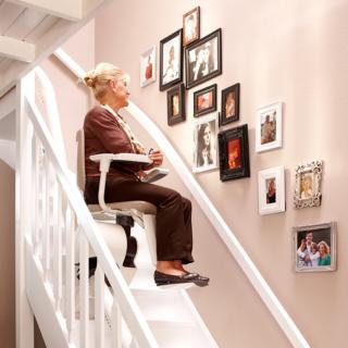 Treppenlift: Bundesfinanzhof zeigte sich im Falle eines Behinderten großzügig